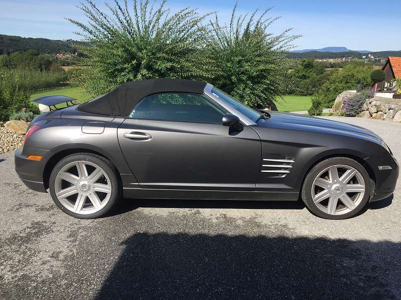 verkauft chrysler crossfire roadster 3 gebraucht 2004. Black Bedroom Furniture Sets. Home Design Ideas