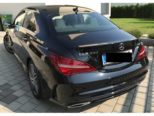 verkauft mercedes cla250 cla klasse4ma gebraucht 2016 km in traun. Black Bedroom Furniture Sets. Home Design Ideas