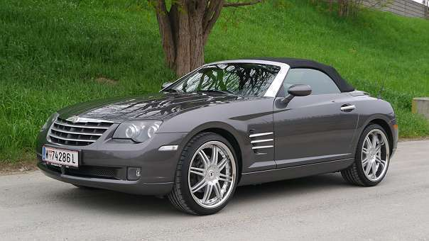 verkauft chrysler crossfire 3 2 v6 roa gebraucht 2004 km in wien bezirk. Black Bedroom Furniture Sets. Home Design Ideas