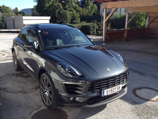 gebraucht diesel 3 0 dsg porsche macan s 2017 km in salzburg. Black Bedroom Furniture Sets. Home Design Ideas