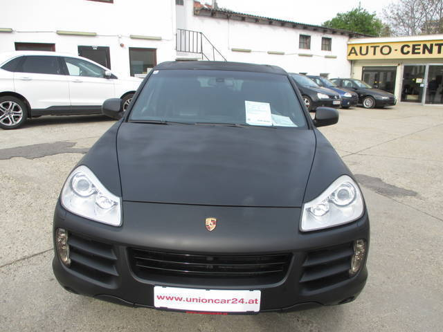 verkauft porsche cayenne 3 6 tiptronic gebraucht 2007. Black Bedroom Furniture Sets. Home Design Ideas