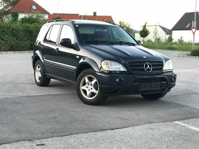 verkauft mercedes ml55 amg amg m klass gebraucht 2001. Black Bedroom Furniture Sets. Home Design Ideas