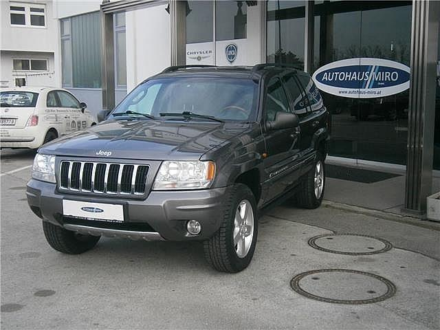 gebraucht overland 2 7 crd aut jeep grand cherokee 2004 km in wien. Black Bedroom Furniture Sets. Home Design Ideas