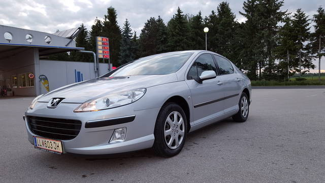 verkauft peugeot 407 premium 2 0 hdi 1 gebraucht 2008 km in haag. Black Bedroom Furniture Sets. Home Design Ideas