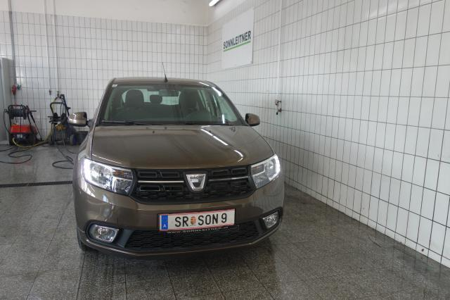 verkauft dacia sandero supreme tce gebraucht 2017 300 km in steyr. Black Bedroom Furniture Sets. Home Design Ideas