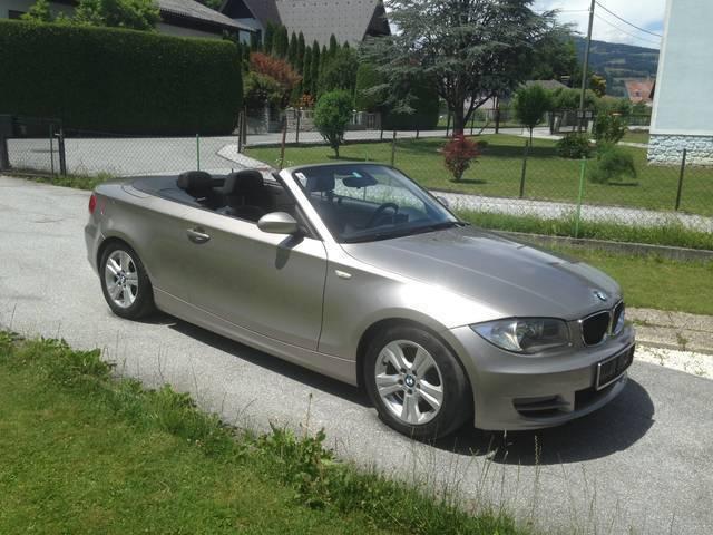 verkauft bmw 118 cabriolet 1er reihe c gebraucht 2009 km in berndorf. Black Bedroom Furniture Sets. Home Design Ideas