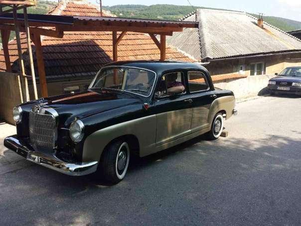 verkauft mercedes 180 ponton limousine gebraucht 1961 km in frankenmarkt. Black Bedroom Furniture Sets. Home Design Ideas