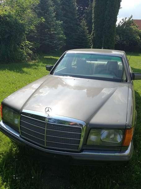 verkauft mercedes 280 se limousine gebraucht 1980 km in bad erlach. Black Bedroom Furniture Sets. Home Design Ideas