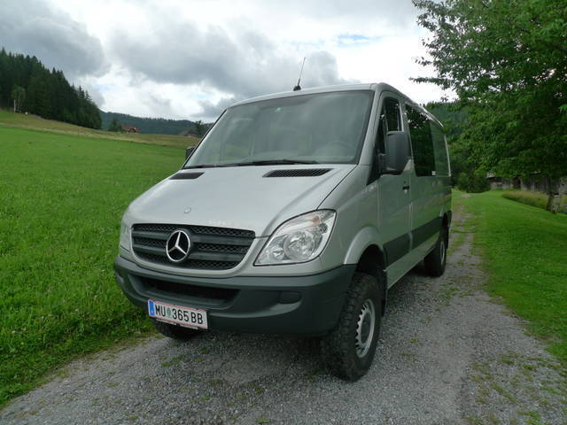 verkauft mercedes sprinter iglhaut 4x4 gebraucht 2008 km in murau. Black Bedroom Furniture Sets. Home Design Ideas