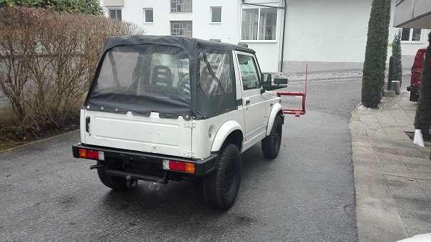 Prächtig Verkauft Suzuki Samurai Winterdienst S., gebraucht 1997, 73.500 km @OS_12