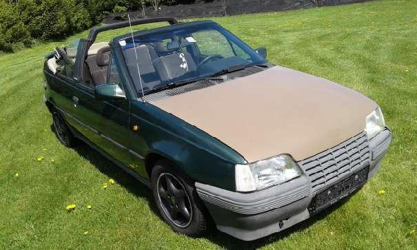 verkauft opel kadett cabrio gsi cabrio gebraucht 1991 km in sankt veit an der. Black Bedroom Furniture Sets. Home Design Ideas