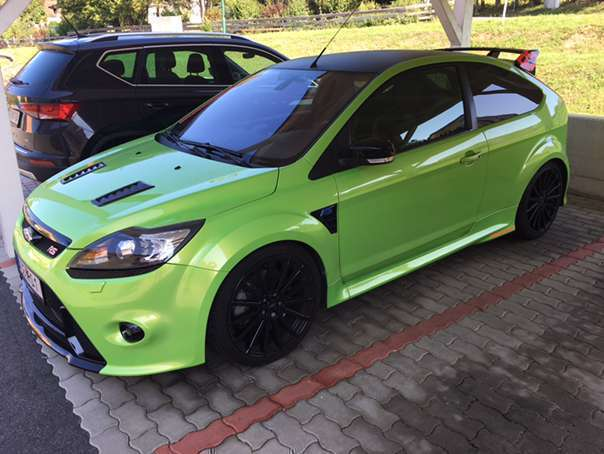 verkauft ford focus rs mk2 sportwagen gebraucht 2009 km in jennersdorf. Black Bedroom Furniture Sets. Home Design Ideas