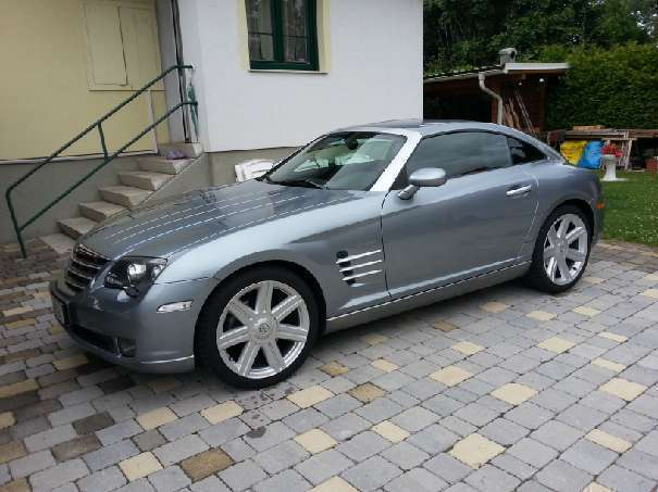 verkauft chrysler crossfire 3 2 v6 aut gebraucht 2004 km in grafenbach st v. Black Bedroom Furniture Sets. Home Design Ideas