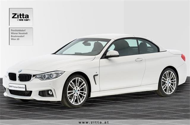 verkauft bmw 420 4er reihe d cabrio m gebraucht 2016 km in perchtoldsdorf. Black Bedroom Furniture Sets. Home Design Ideas