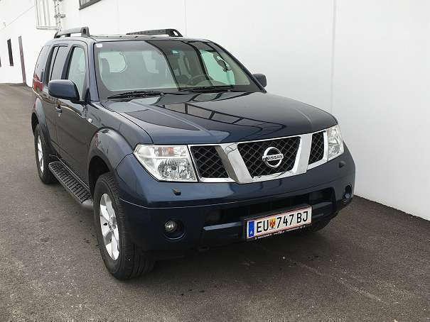 verkauft nissan pathfinder 2 5 dci le gebraucht 2006 km in gro h flein. Black Bedroom Furniture Sets. Home Design Ideas