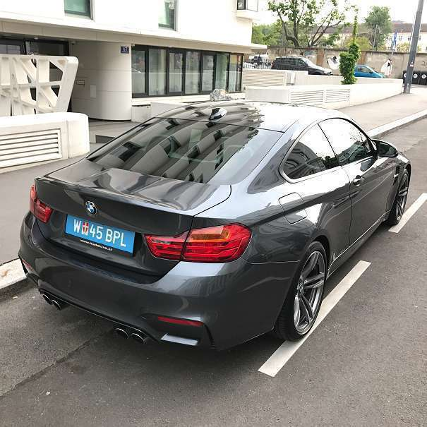 verkauft bmw m4 4er reihecoupe m dkg a gebraucht 2015. Black Bedroom Furniture Sets. Home Design Ideas