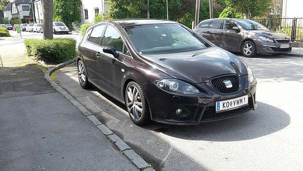 verkauft seat leon cupra 1p kombi gebraucht 2008 km in bisamberg. Black Bedroom Furniture Sets. Home Design Ideas