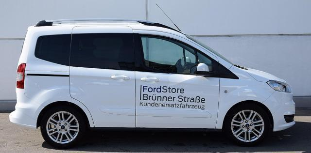 verkauft ford tourneo courier 1 0 ecob gebraucht 2017 km in wien. Black Bedroom Furniture Sets. Home Design Ideas