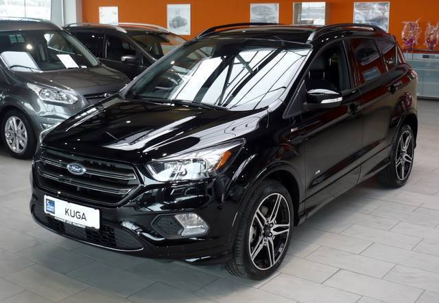 ford kuga gebraucht ford kuga schwarz metallic 2009. Black Bedroom Furniture Sets. Home Design Ideas
