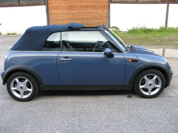 gebraucht cabrio cabrio r52 roadster mini cooper cabriolet 2005 km in sankt p lten. Black Bedroom Furniture Sets. Home Design Ideas