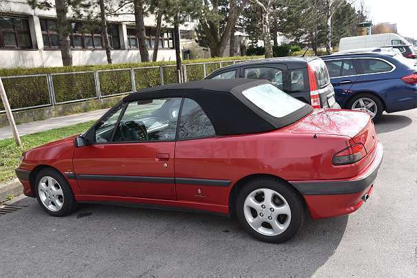 verkauft peugeot 306 cabriolet cabrio gebraucht 1995 km in wien. Black Bedroom Furniture Sets. Home Design Ideas