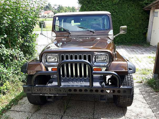 verkauft jeep wrangler suv gel ndewa gebraucht 1990 km in kleinebersdorf. Black Bedroom Furniture Sets. Home Design Ideas