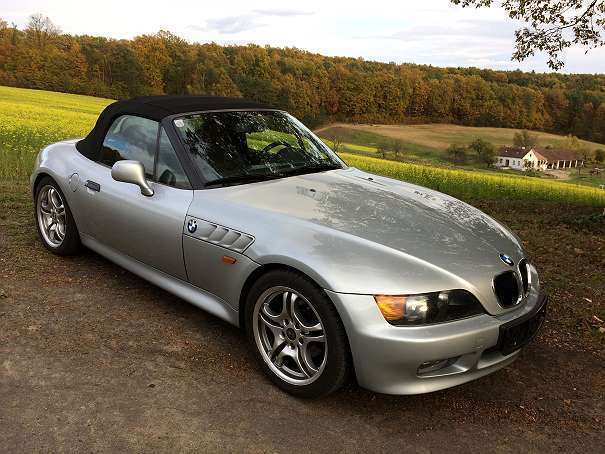 verkauft bmw z3 1 9 cabrio roadster gebraucht 1996 94. Black Bedroom Furniture Sets. Home Design Ideas