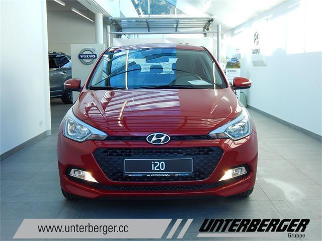 verkauft hyundai i20 gb edition 25 1 gebraucht 2017 10 km in kufstein. Black Bedroom Furniture Sets. Home Design Ideas