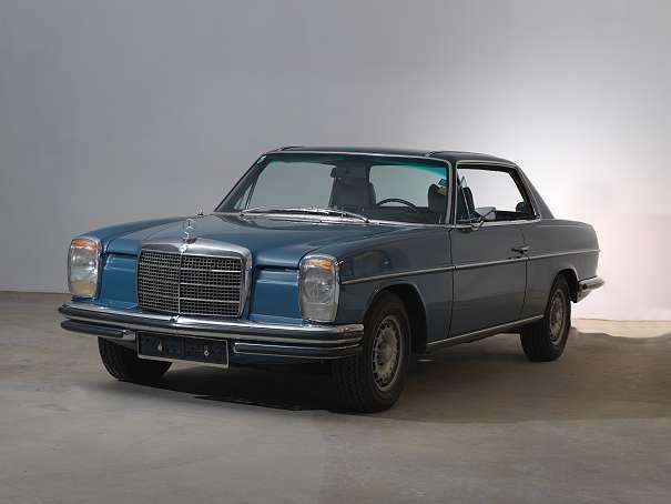 verkauft mercedes 200 8 strich 8 coupe gebraucht 1973. Black Bedroom Furniture Sets. Home Design Ideas
