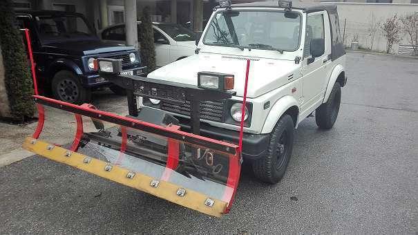 Geliebte Verkauft Suzuki Samurai Winterdienst S., gebraucht 1997, 73.500 km #OC_11