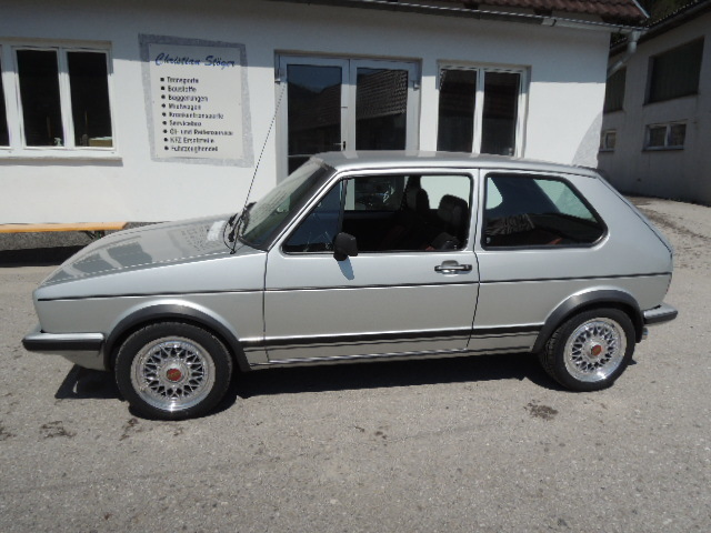verkauft vw golf gti 1 gebraucht 1981 km in waldhausen. Black Bedroom Furniture Sets. Home Design Ideas