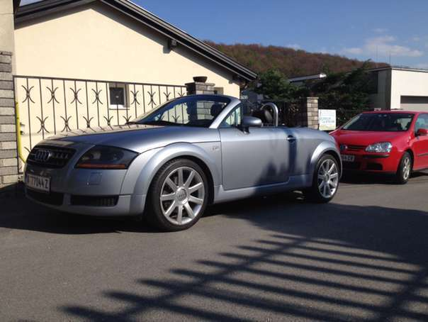 verkauft audi tt roadster cabrio gebraucht 2003 km in sankt p lten land. Black Bedroom Furniture Sets. Home Design Ideas