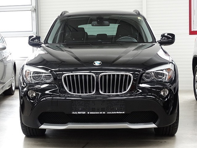 verkauft bmw x1 xdrive23d aut gebraucht 2009 km. Black Bedroom Furniture Sets. Home Design Ideas