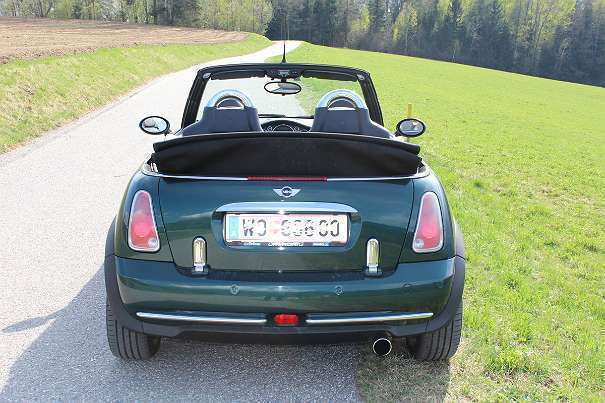 verkauft mini cooper cabriolet cabrio gebraucht 2005 km in wolfsberg. Black Bedroom Furniture Sets. Home Design Ideas