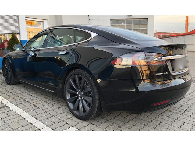 verkauft tesla model s 90d mit batter gebraucht 2016. Black Bedroom Furniture Sets. Home Design Ideas