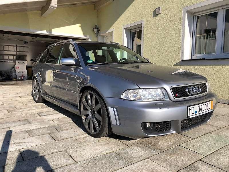 Verkauft Audi A4 Rs4 B5 Kombi Family Gebraucht 2001 122700 Km
