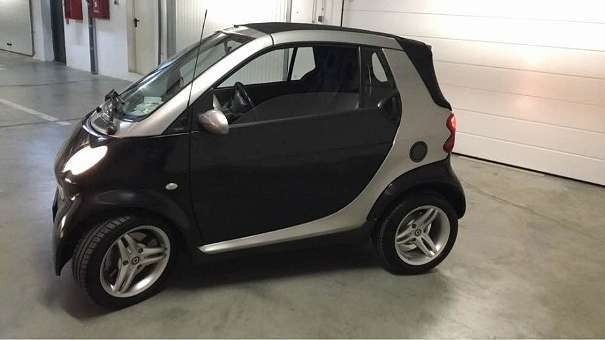 verkauft smart fortwo cabrio roadster gebraucht 2006 km in krems. Black Bedroom Furniture Sets. Home Design Ideas