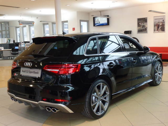verkauft audi s3 sportback quattro s t gebraucht 2016. Black Bedroom Furniture Sets. Home Design Ideas