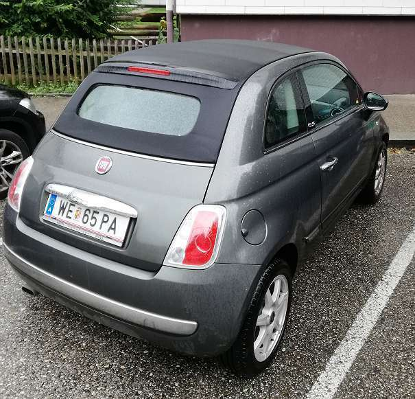 verkauft fiat 500c 500 1 2 lounge cab gebraucht 2013 km in wels. Black Bedroom Furniture Sets. Home Design Ideas