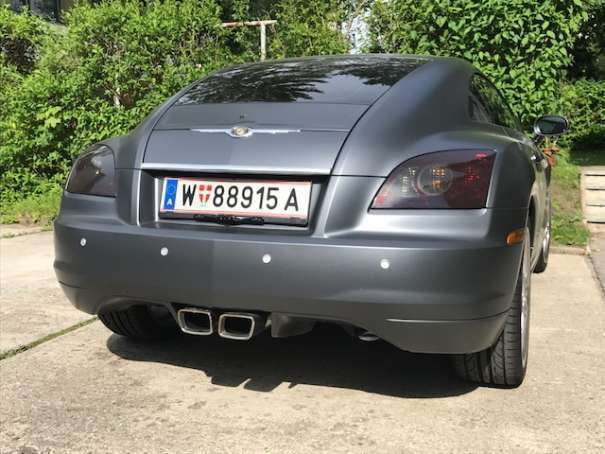 verkauft chrysler crossfire 3 2 v6 spo gebraucht 2006 km in wien. Black Bedroom Furniture Sets. Home Design Ideas