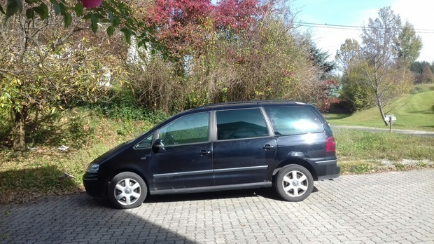 verkauft vw sharan vr6 allrad 2 8 l gebraucht 2006 km in steiermark. Black Bedroom Furniture Sets. Home Design Ideas