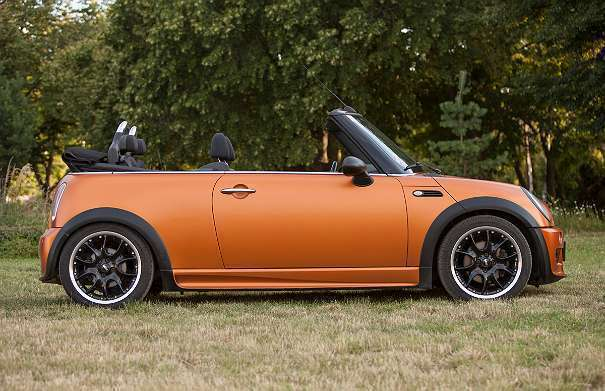 verkauft mini cooper cabriolet cabrio gebraucht 2005. Black Bedroom Furniture Sets. Home Design Ideas