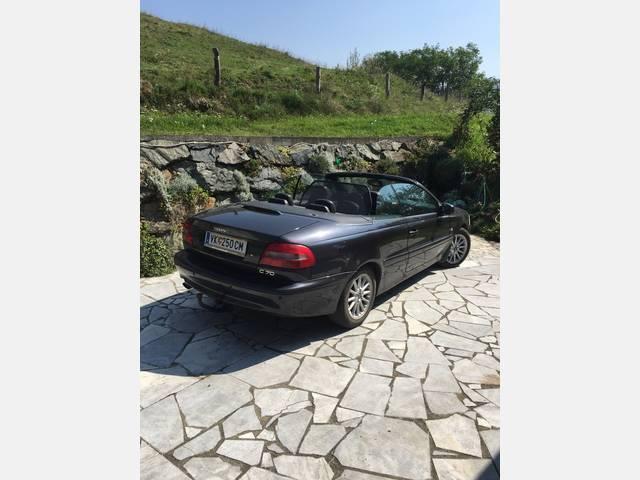verkauft volvo c70 2 0t cabrio aut gebraucht 2001 km in v lkermarkt. Black Bedroom Furniture Sets. Home Design Ideas