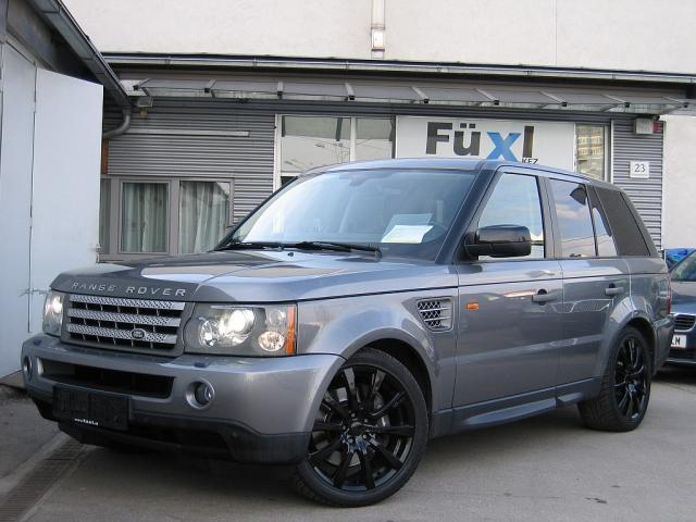 verkauft land rover range rover sport gebraucht 2008 km in linz. Black Bedroom Furniture Sets. Home Design Ideas