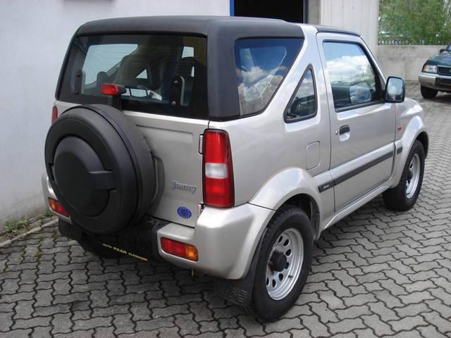 verkauft suzuki jimny lx cabrio 39 39 hard gebraucht 2001. Black Bedroom Furniture Sets. Home Design Ideas