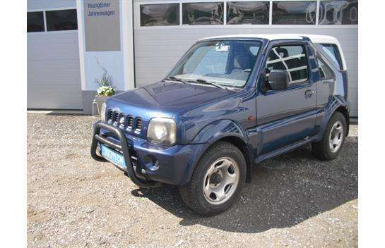 verkauft suzuki jimny vx cabrio gebraucht 2000 km in wei kirchen. Black Bedroom Furniture Sets. Home Design Ideas
