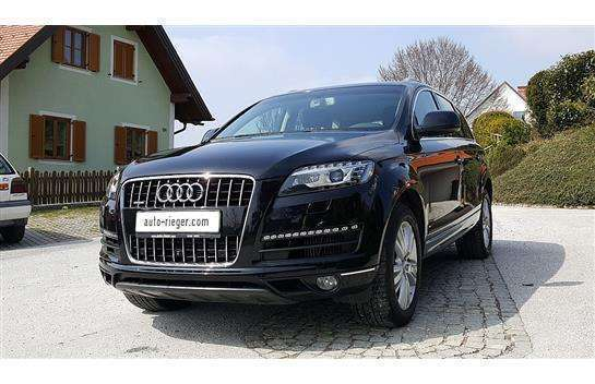 verkauft audi q7 3 0 tdi quattro tiptr gebraucht 2013 km in weiz. Black Bedroom Furniture Sets. Home Design Ideas