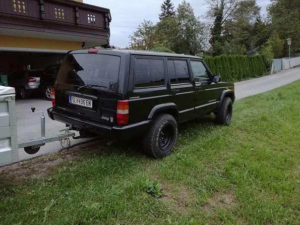 verkauft jeep cherokee xj diesel suv gebraucht 2000 km in stra walchen. Black Bedroom Furniture Sets. Home Design Ideas