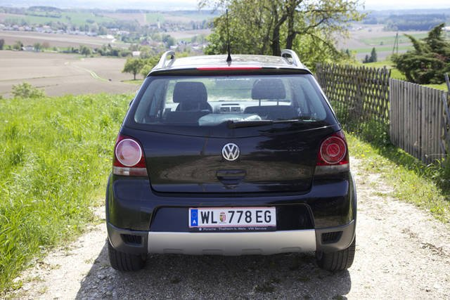 verkauft vw polo cross 1 4 gebraucht 2008 km in. Black Bedroom Furniture Sets. Home Design Ideas