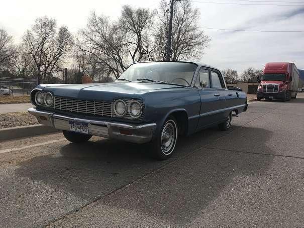 verkauft chevrolet impala limousine gebraucht 1964 99. Black Bedroom Furniture Sets. Home Design Ideas